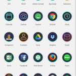android oreo 8.0 Lawnchair Launcher apk