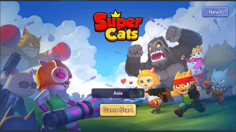 Download Battle Royale Super Cats for PC Win/Mac - PC Tricker